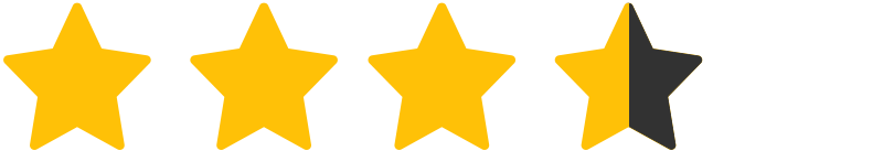 Three and half Stars Rating Site