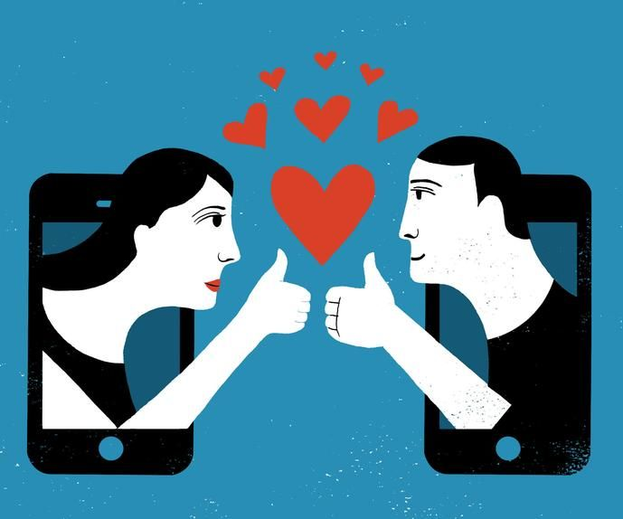 online dating keep in touch