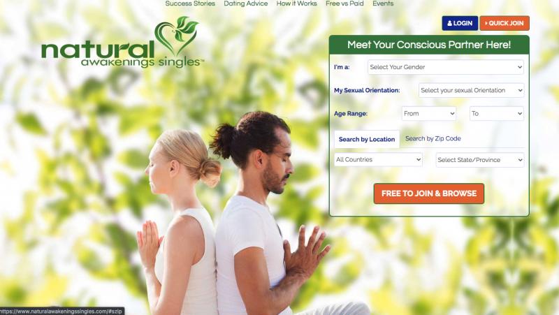 Natural Awakenings Singles top spiritual dating sites of 2020