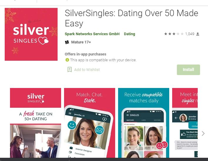 SilverSingles best dating sites of 2020 for old people