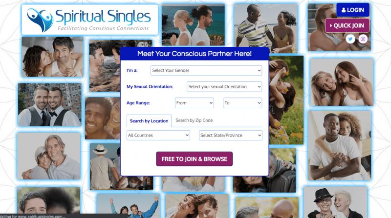 SpiritualSingles dating site