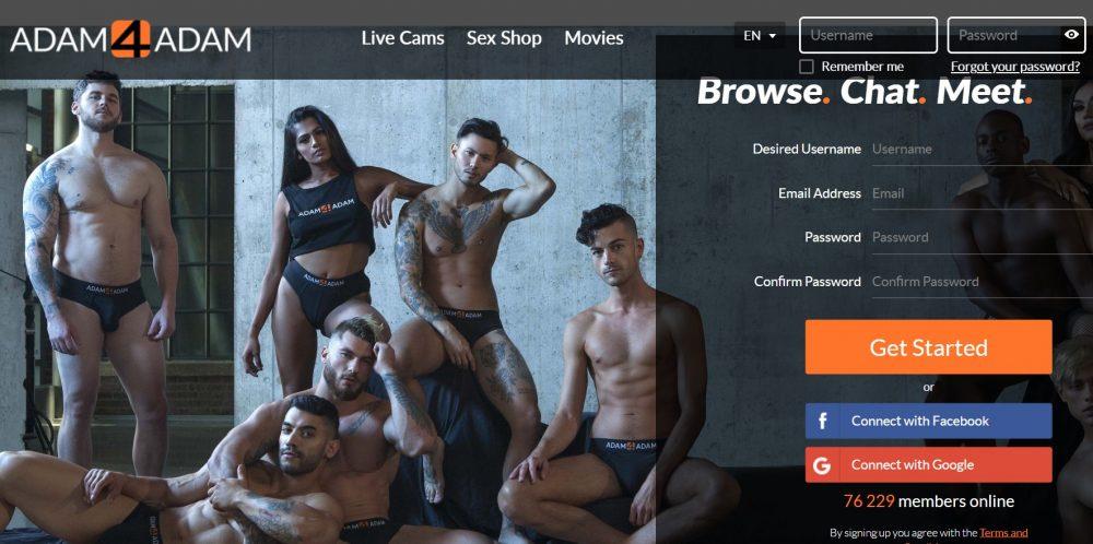Adam4Adam dating site