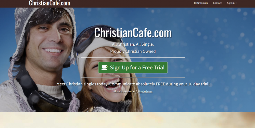 Christian Cafe best Christian dating sites