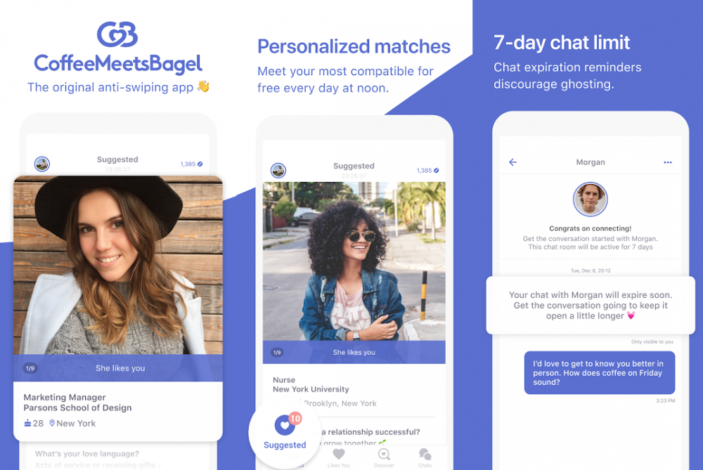 Dating App interface sample