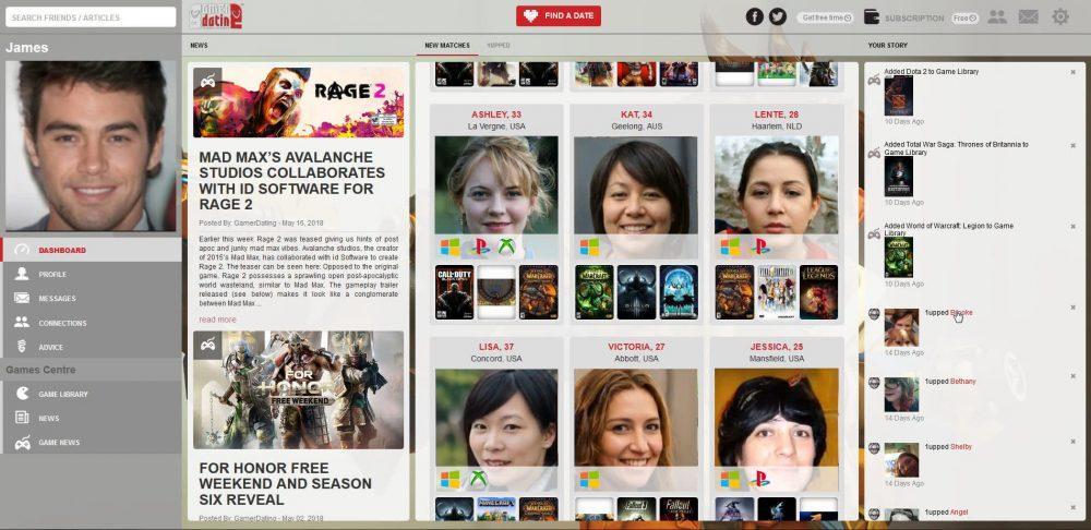 Gamer Dating website