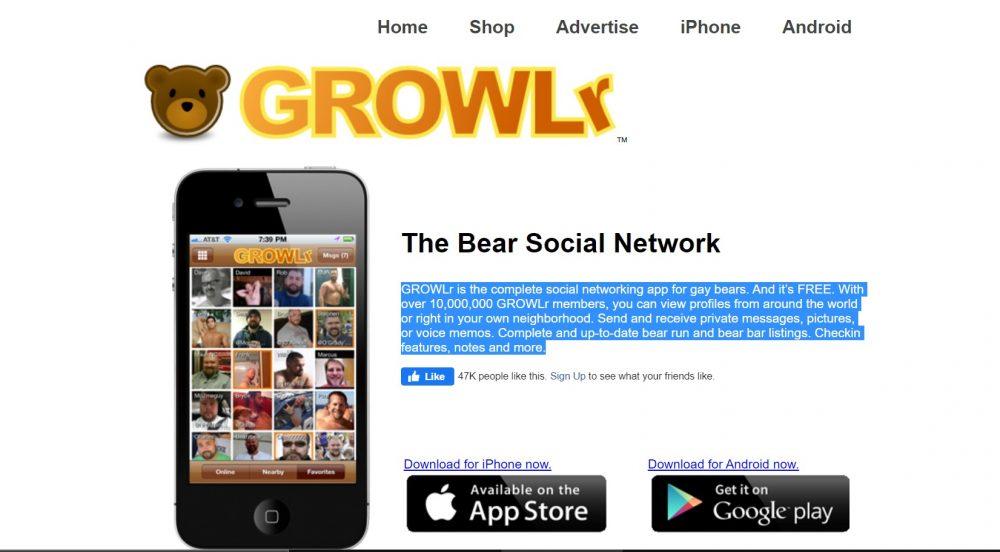 Growlr bear gays
