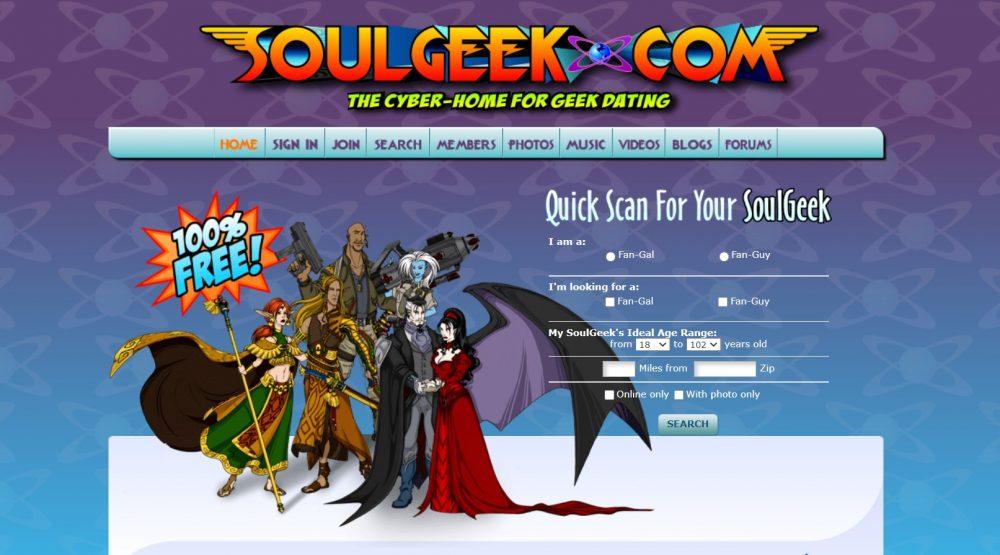 Soulgeek gamer dating sites 2021