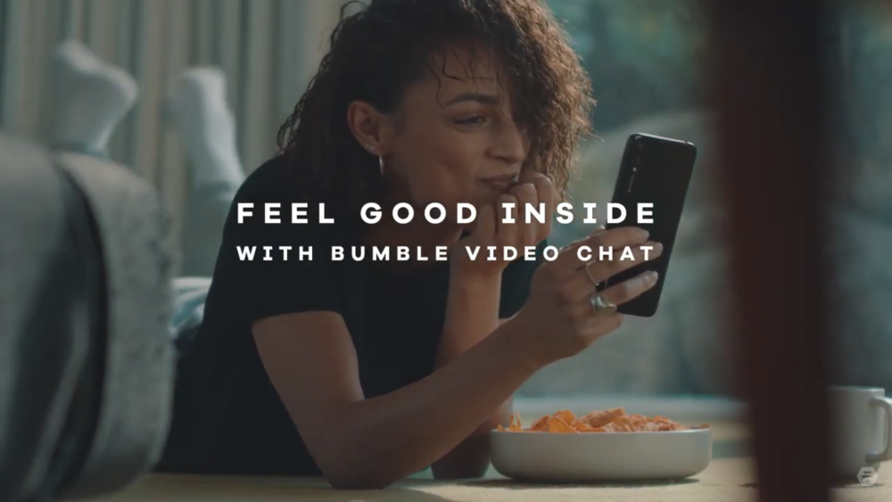 Bumble Video Chat feature