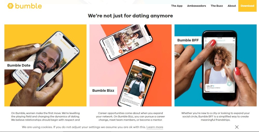 Where Women Make the First Move: Bumble Dating App Review