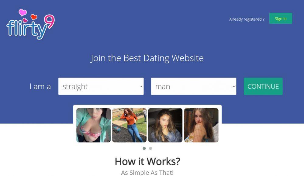 Flirty9 sites like plentyoffish.com